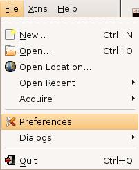 Icon New… Icon Open…